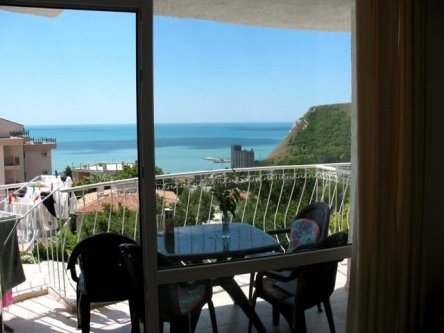 Апартамент с морска гледка на тихо място