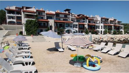 Апартаменти на брега на морето до Балчик