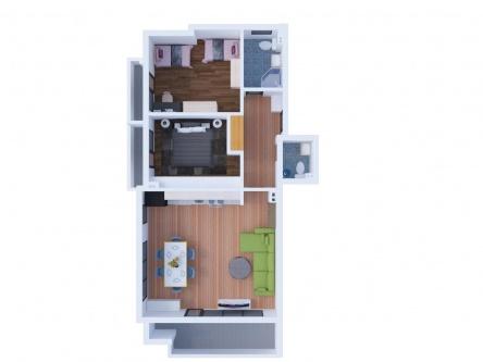 Жилище с две спални в нова луксозна сграда в Сливен