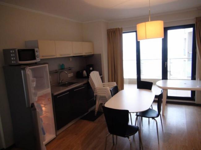 Обзаведен апартамент във ваканционен комплекс