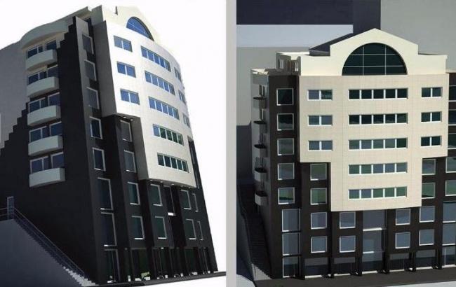 Продажба на бизнес сграда с офиси на груб строеж