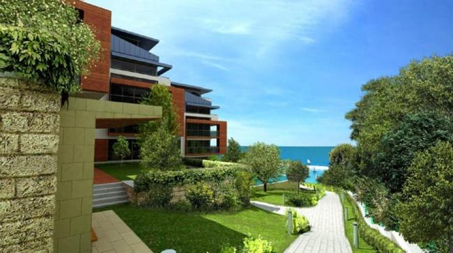 Парцел на първа морска линия с инвестиционен проект за луксозно ваканционно селище