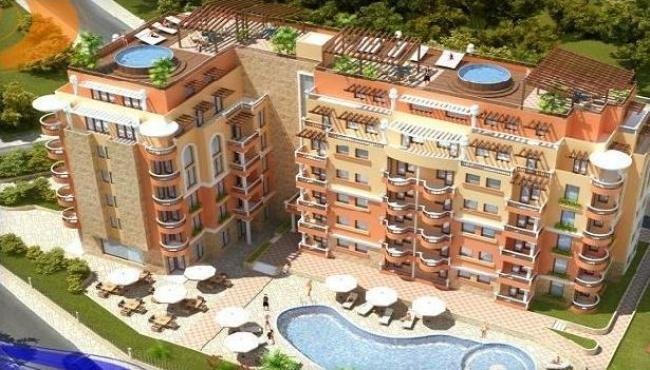 Апартаменти ново строителство в Слънчев Бряг