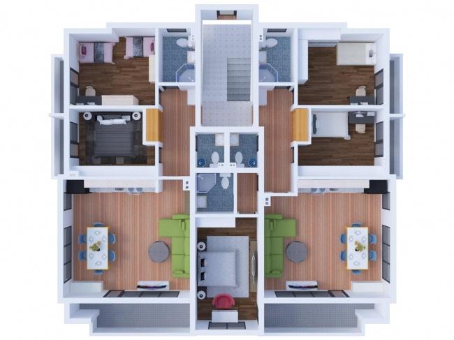 Модерни апартаменти с две и три спални в Сливен