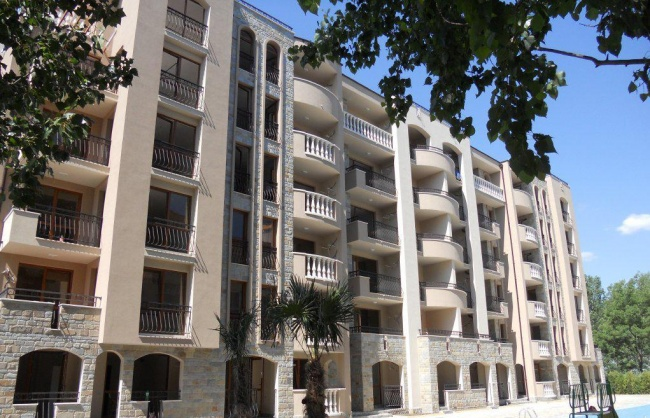 Слънчев Бряг апартаменти Каскада