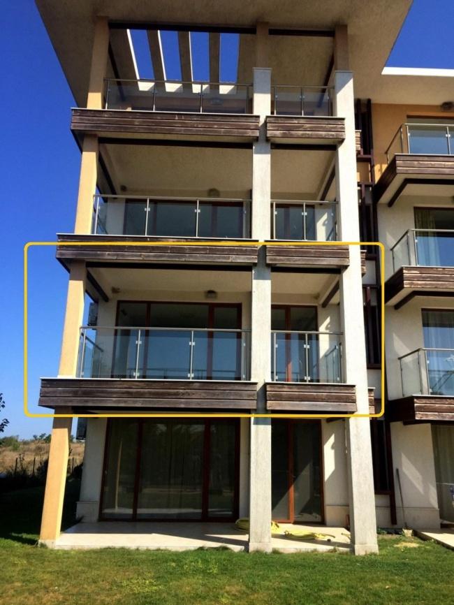 Евтин апартамент на море на тихо място