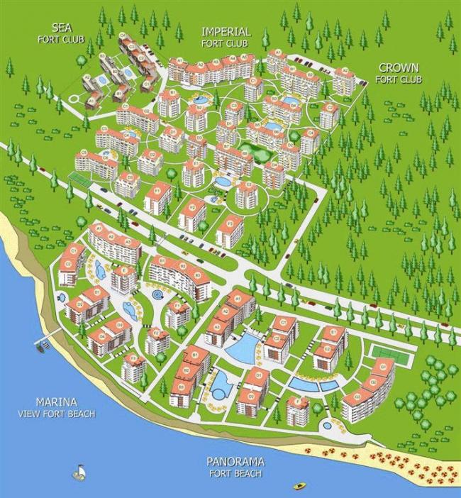 Апартаменти за продажба до Свети Влас и Елените