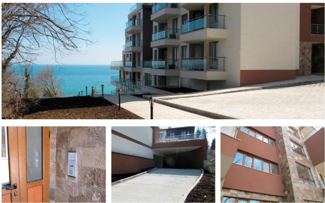 Луксозни апартаменти на плажа в Бяла