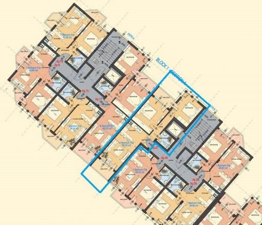 Тристаен апартамент в модерен комплекс в Банско на изплащане