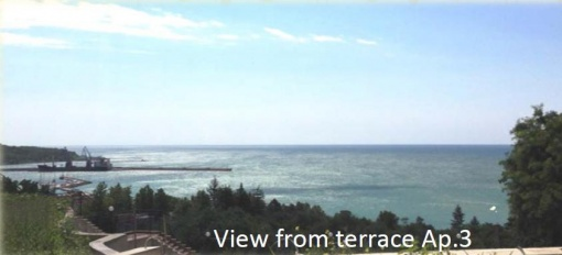 Тристаен апартамент с морска гледка до Ботаническа градина Балчик