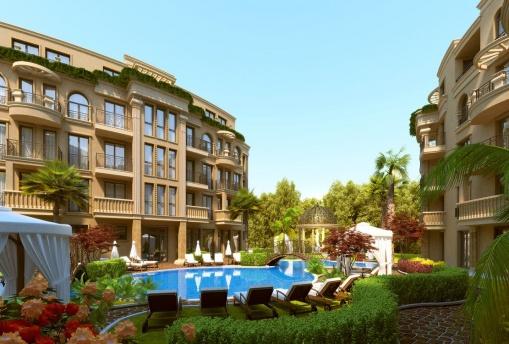Апартамент с две спални в нов комплекс в Слънчев Бряг