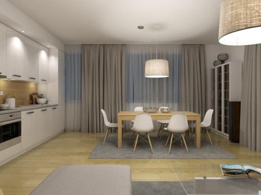 Двустаен апартамент в нова луксозна сграда в Сливен
