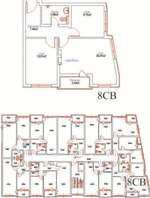 Луксозен тристаен апартамент до Варна