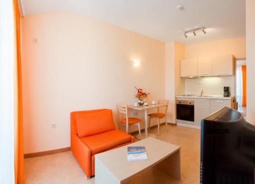 Апартамент лукс с 2 спални в Слънчев Бряг